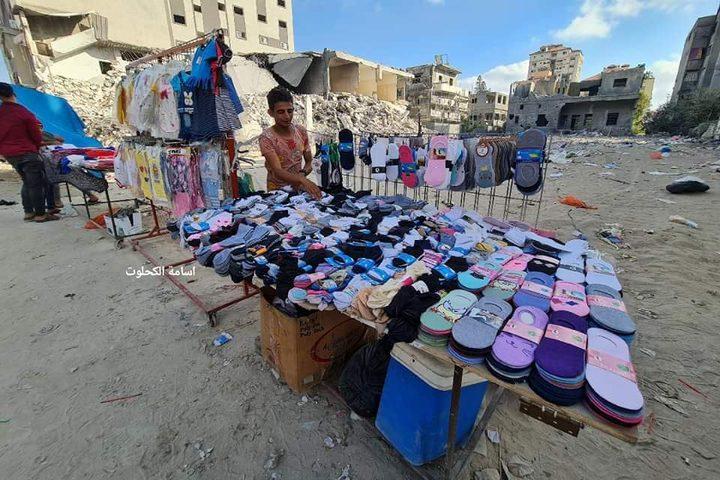 استعدادات أهالي غزة لاستقبال عيد الأضحى المبارك