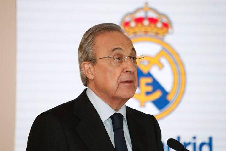 ريال مدريد يبرر تسجيلات بيريز رفضه الابتزاز بـ10 ملايين يورو