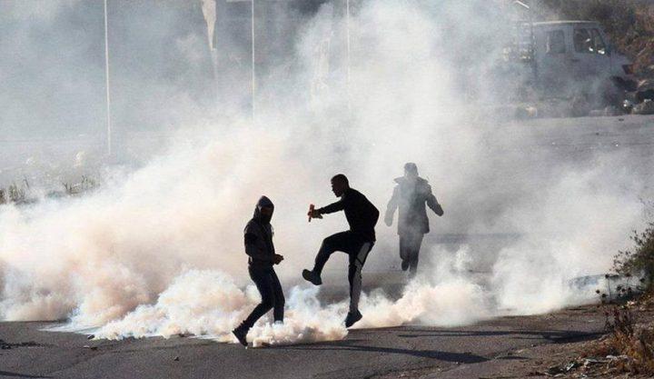 إصابات خلال مواجهات مع الاحتلال في بيتا وبيت دجن