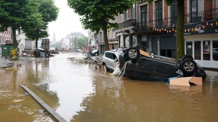 ألمانيا:ارتفاع حصيلة ضحايا الفيضانات