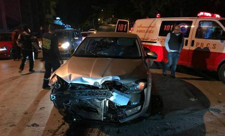 إصابة عدد من المواطنين بحادث سير في أريحا