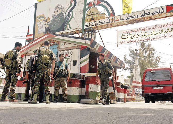 3 جرحى في اشتباك مسلح بمخيم عين الحلوة للاجئين الفلسطينيين