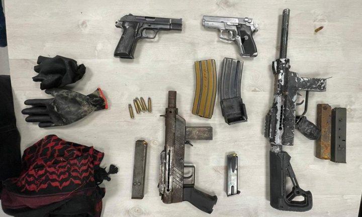 اعتقال خمسة شبان بشبهة إطلاق نار في رهط