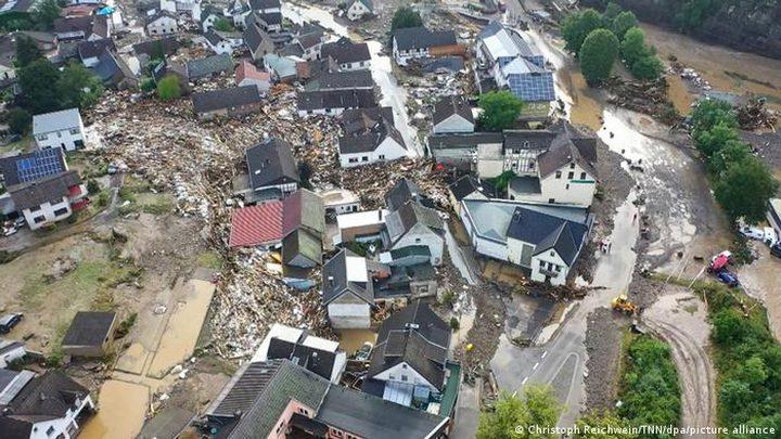 ارتفاع عدد ضحايا الفيضانات في أوروبا إلى 183 معظمهم في ألمانيا