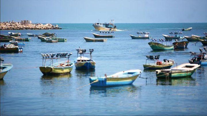 إغلاق بحر غزة أمام الصيادين خلال عيد الأضحى المبارك