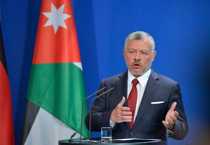 العاهل الأردني يؤكد ضرورة نيل الفلسطينيين حقوقهم وإنشاء دولتهم