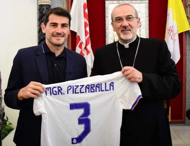 وفد من مؤسسة ريال مدريد يزور البطريركية اللاتينية في القدس