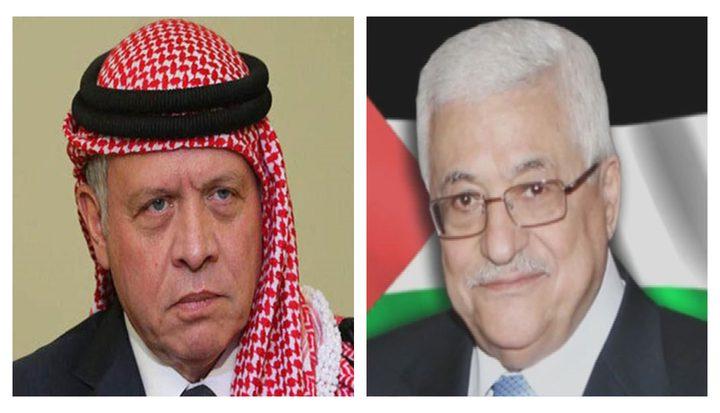 تبادل الرئيس الفلسطيني محمود عباس التهاني لمناسبة حلول عيد الأضحى