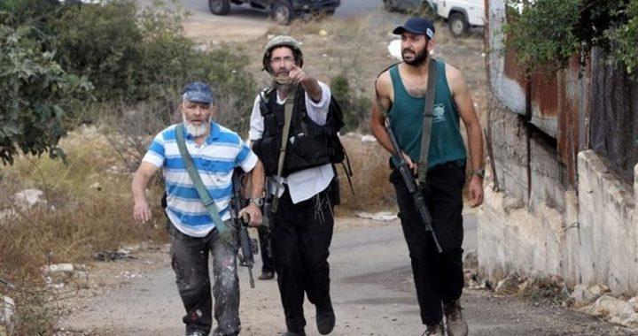 إصابة مواطن ونجله برضوض في اعتداء للمستوطنين شمال شرق رام الله