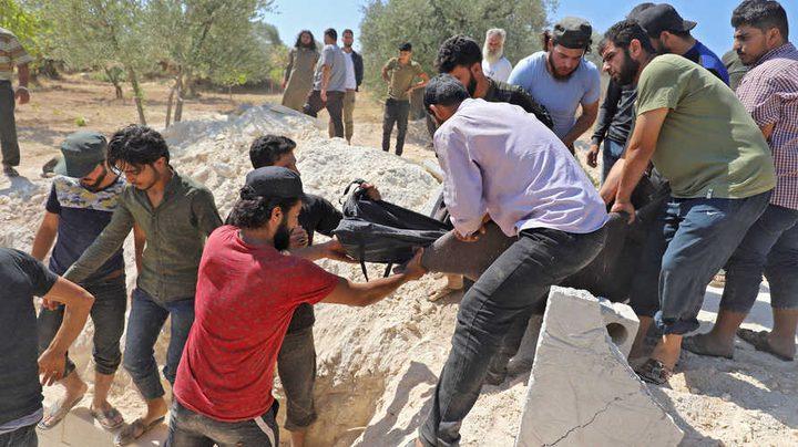 سورية: مقتل سبعة مدنيين في قصف مدفعيّ لقوات النظام في إدلب