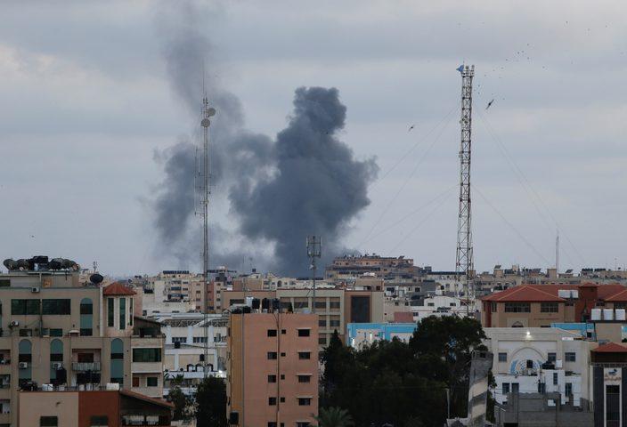 إصابات بانفجار في سوق الزاوية في غزة