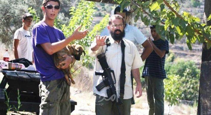 نابلس: مستوطنون يحرقون معدات منشار حجر في جماعين