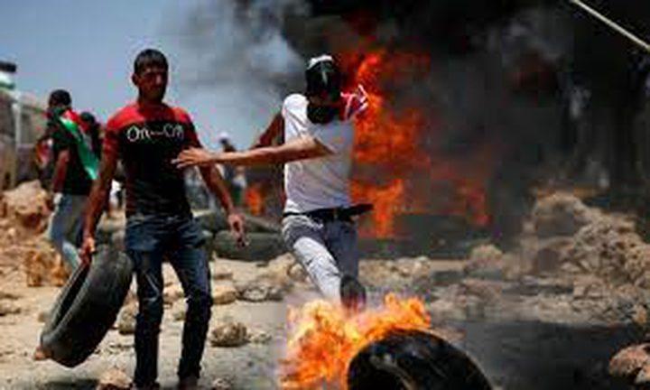 إصابة 5 مواطنين بالرصاص خلال مواجهات مع الاحتلال في بيتا