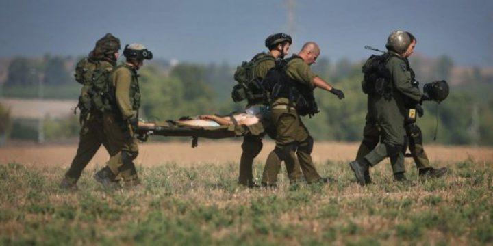 الاحتلال يزعم إصابة جنديين خلال مواجهات عنيفة جنوب نابلس