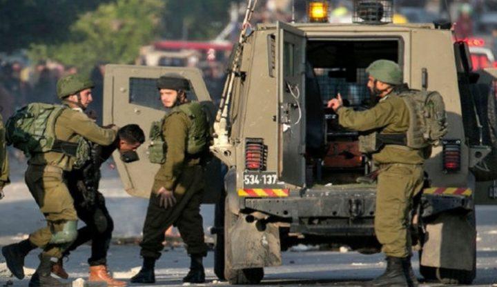 قوات الاحتلال تعتقل أسيرا محررا من مخيم الجلزون