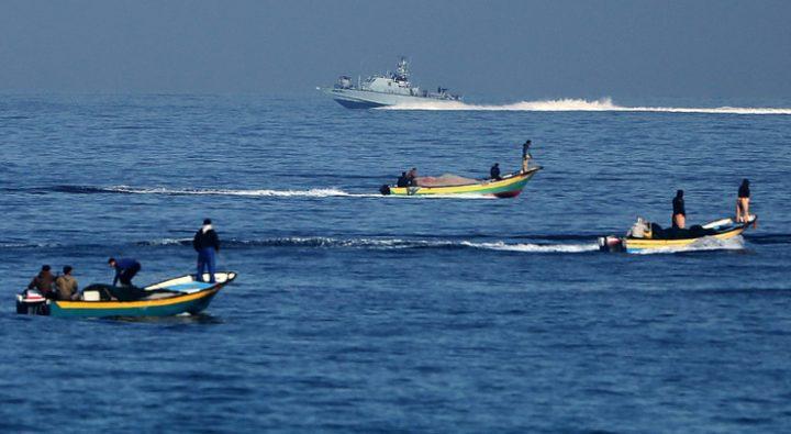 سلطات الاحتلال تقرر تقليص مساحة الصيد في بحر غزة
