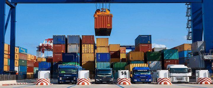 الإحصاء: انخفاض الصادرات والواردات السلعية خلال أيار