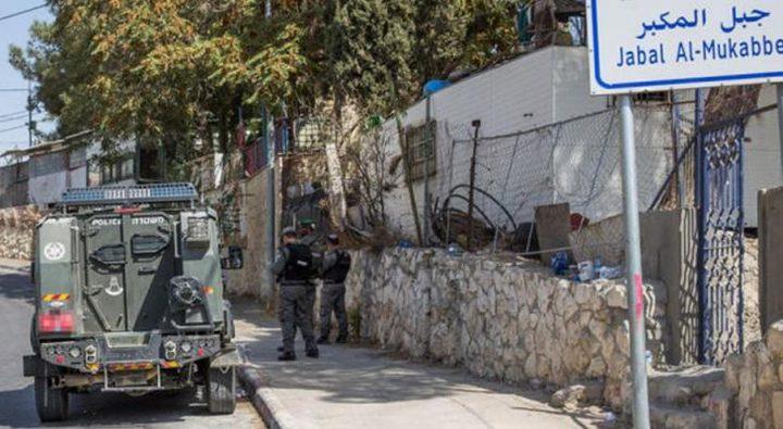 سلطات الاحتلال تجبر مقدسياً على هدم منزله في جبل المكبر