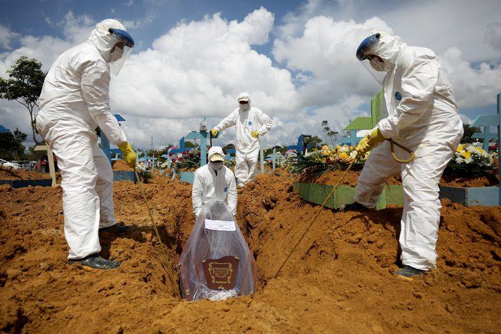 الولايات المتحدة والبرازيل أكثر المتضررين من كورونا