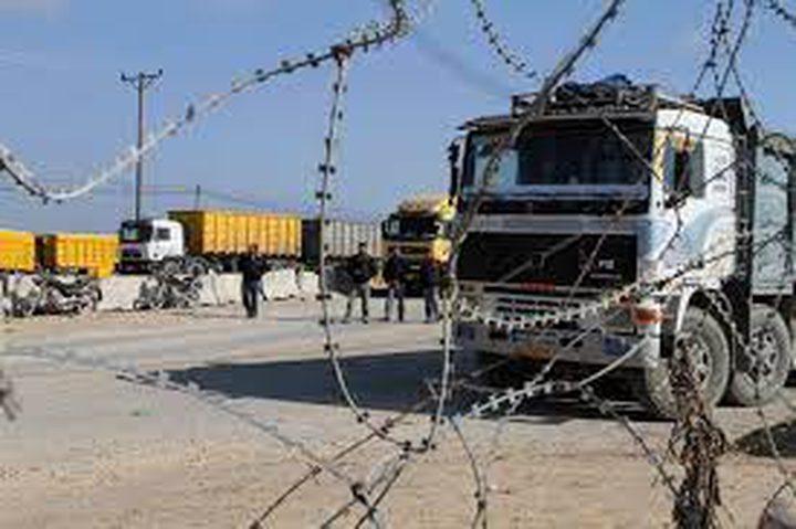 الاحتلال يمنع إدخال شاحنات وقود إلى غزة
