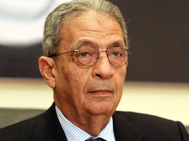 عمرو موسى: فلسطين أمام فرصة أخيرة لإنقاذ إقامة الدولة