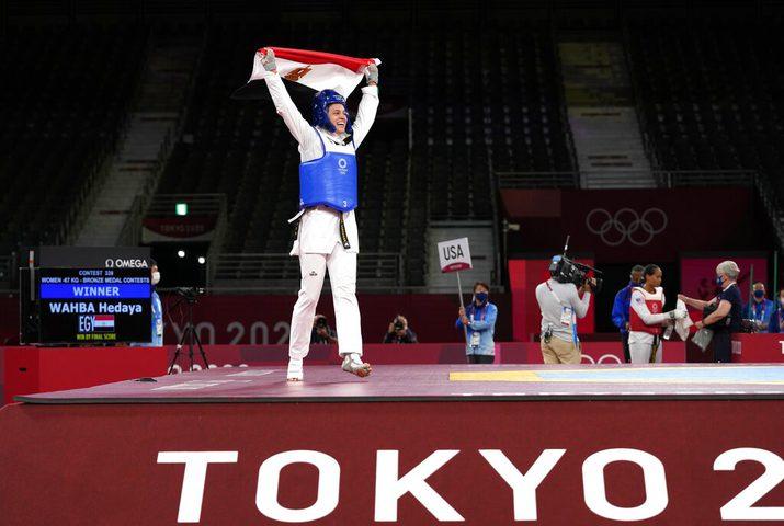 فضية للأردن وبرونزيتان لمصر في مسابقة التايكوندو بأولمبياد طوكيو