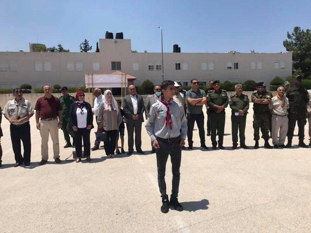 """جنين: افتتاح مخيم التجمع المركزي الكشفي """"فلسطين الأرض والهوية"""""""