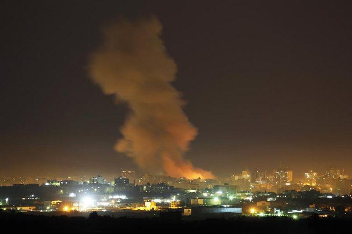 طائرات الاحتلال تستهدف عدة مواقع في قطاع غزة