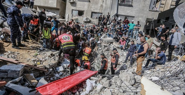 """""""رايتس ووتش"""" تتهم الاحتلال بارتكاب جرائم حرب وابادة على غزة"""
