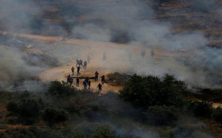 إصابة شاب برصاص قوات الاحتلال في بيتا جنوب نابلس