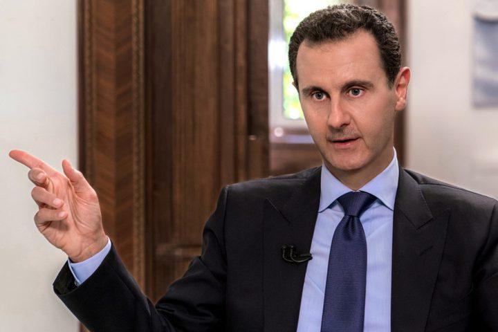 الأسد: إيران شريك أساسي لسوريا