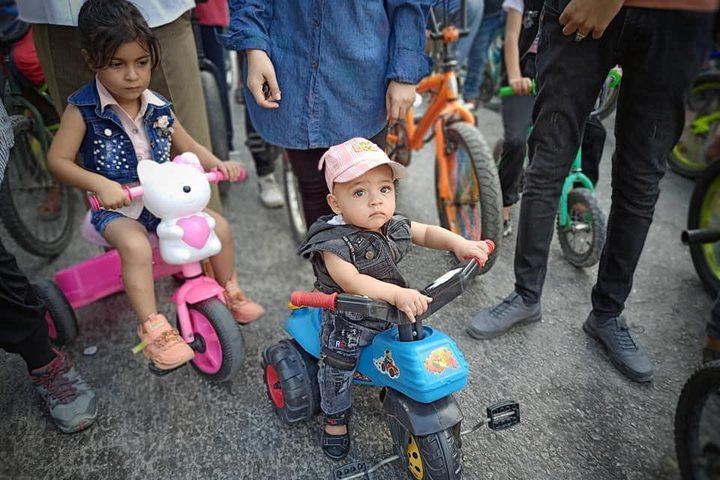 انطلاق ماراثون لأكثر من 100 طفل برفح.. بالتزامن مع سباق ماراثون في بروكسل ومانشستر ونيودلهي .. تصوير هاني الشاعر