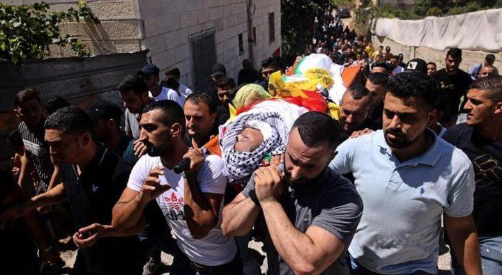 تشييع جثمان الطفل محمد العلامي وسط اندلاع مواجهات مع الاحتلال
