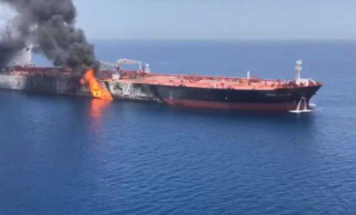 """مقتل اثنين في الهجوم على سفينة """"إسرائيلية"""" قبالة سواحل عُمان"""