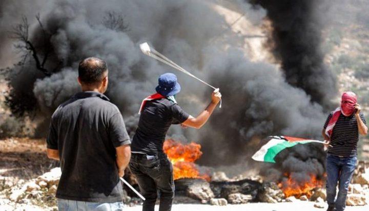 إصابات بالرصاص والاختناق خلال مواجهات مع الاحتلال في بيتا