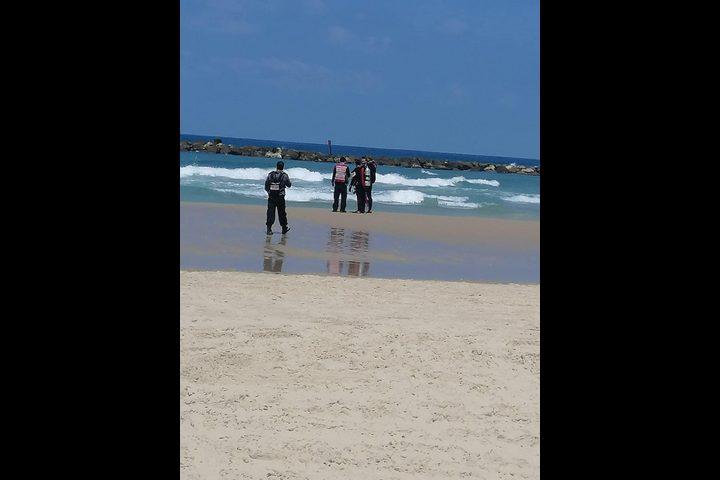 مصرع شخص غرقا في بحر يافا