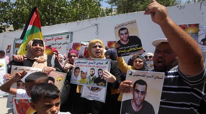 الاحتلال يقمع وقفة اسناد مع الأسرى في سلفيت