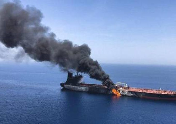 استهداف سفينة إسرائيلية في هجوم قبالة عمان