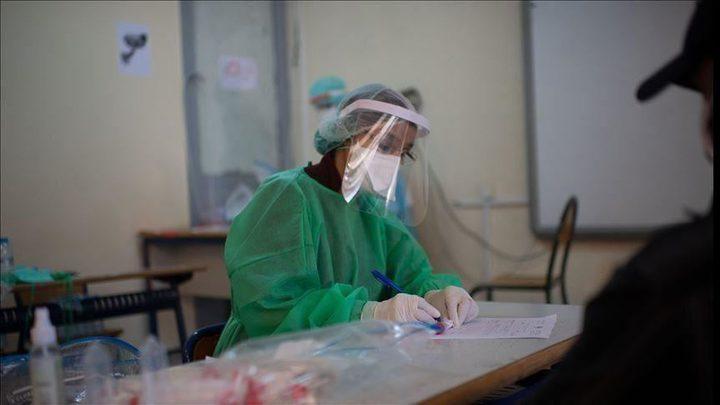 حالة وفاة واحدة 104 إصابة جديدة بفايروس كورونا بقطاع غزة