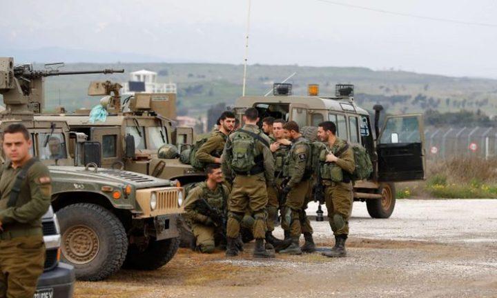 الاحتلال يجري تدريبات عسكرية شرق بيت لحم