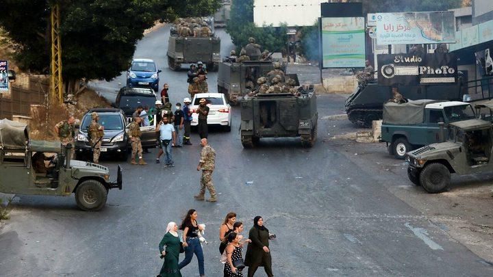 """لبنان: """"حركة أمل"""" تحذر من الفتنة وتعلق على اشتباكات خلدة"""