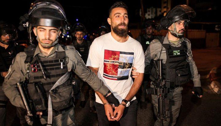 القدس:الاحتلال يعتقل 3 مواطنين من حي الشيخ جراح