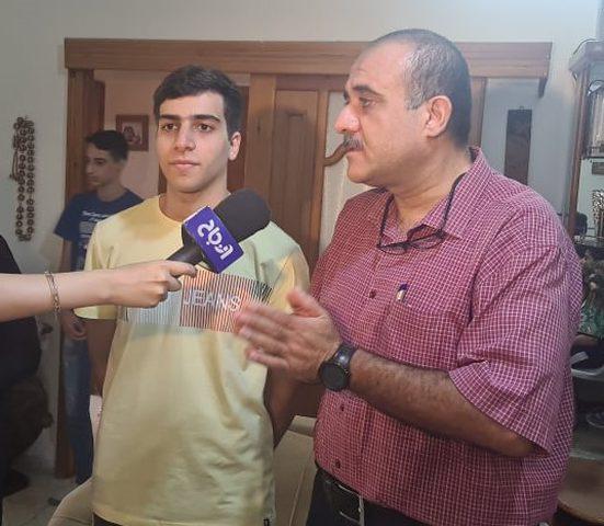 بجهده وعنائه ومثابرته محمد الفاصد يحصل على معدل 99.6%