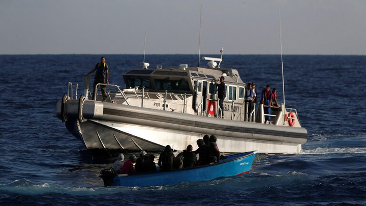 إنقاذ 93 مهاجرا بالبحر في تونس..بينهم مصريون وسوريون