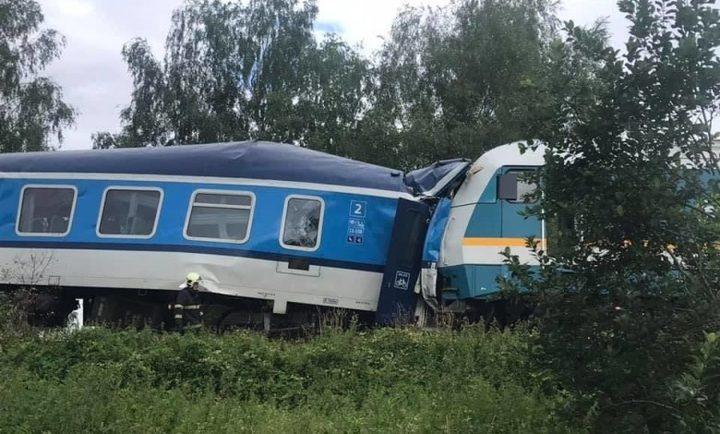 قتلى وجرحى جراء تصادم قطاري ركاب في جمهورية التشيك