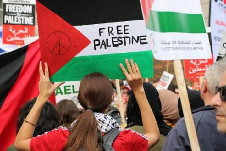 منظمة حقوقية أمريكية تدين الحملات الاسرائيلية ضد انصار فلسطين