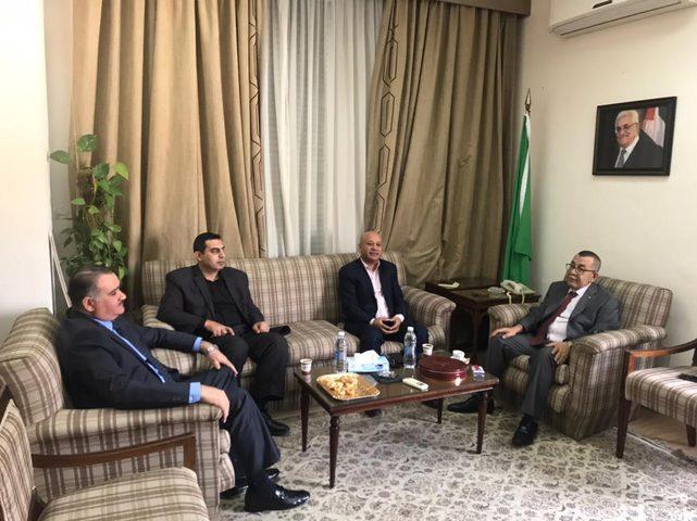 أبو هولي يبحث مع الجامعة العربية مستجدات الأزمة المالية للأونروا