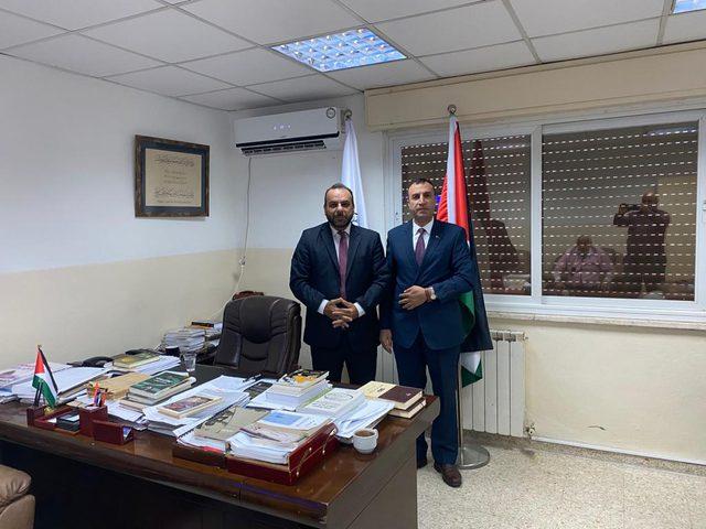 الاتحاد العام للكتاب الفلسطينيين يستقبل سفير دولة فنزويلا