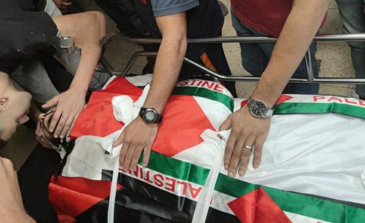 تشييع جثمان الشهيد محمد حسن في قصرة جنوب نابلس