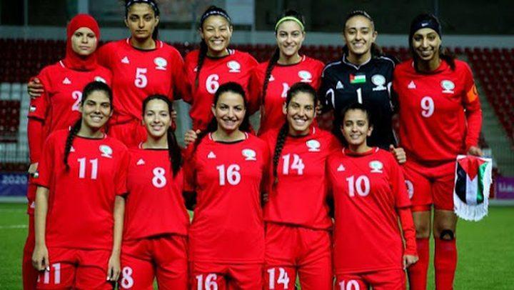 منتخبنا الوطني النسوي في المجموعة الثانية ضمن بطولة كأس العرب